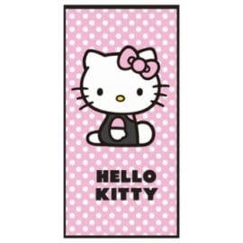 Hello Kitty Strandlaken Dots (pink)