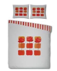 Essenza Dekbedovertrek Rose Blocking (red) 140x200/220