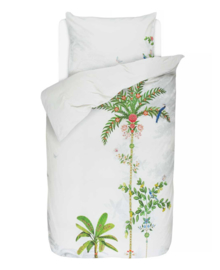 PiP Studio Dekbedovertrek Indian Palms (white) 140x200/220