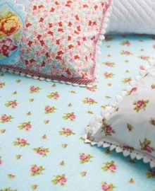 PiP Studio Laken Roses and Dots (blue) 150x250
