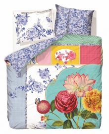 PiP Studio Dekbedovertrek  Royal Porcelaine (multi) 140x200/220