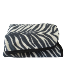 Essenza Plaid Zebra (black/offwhite)