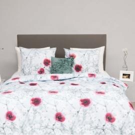 HnL Pure Cotton Dekbedovertrek Floras (multi) 140x200/220