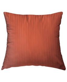 HnL Refined Kussensloop Satijn (mecca orange) 80x80