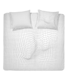 Damai Dekbedovertrek Pull (white) 140x200/220