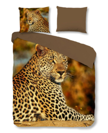 Good Morning Dekbedovertrek Leopard (multi) 200x200/220