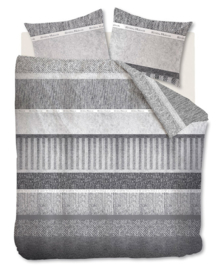 Riviera Maison Dekbedovertrek Winterclub (grey) 260x200/220