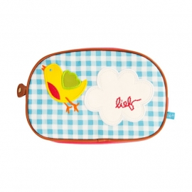 Lief! Love Letter Toilet Bag Small (blue)