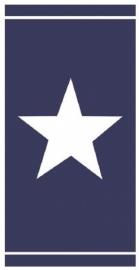 Seahorse Strandlaken Star (blue)