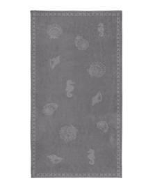 Seahorse Strandlaken Shells (grey)