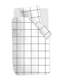 At Home Dekbedovertrek Simple (white) 140x200/220