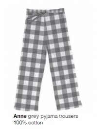 Marieke at Home Dames Pyjamabroek Anne (grey) XL