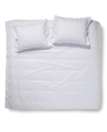 Damai Dekbedovertrek Linea (white) 260x200/220