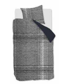 VT Wonen Flanellen Dekbedovertrek Check XL (black) 140x200/220