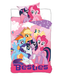 My Little Pony Dekbedovertrek Besties (multi) 140x200