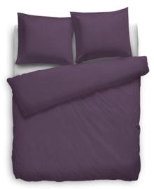 Heckett & Lane Dekbedovertrek Satin Stripe (vintage purple) 260x200/220
