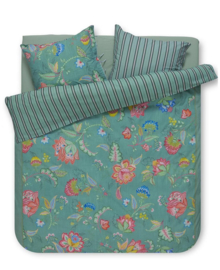 PiP Studio Dekbedovertrek Jambo Flower (green) 260x200/220