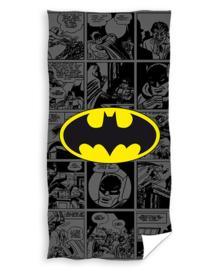 Batman Strandlaken Comic (black)