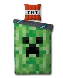 Minecraft Dekbedovertrek Craft (green) 140x200