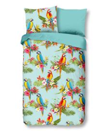 Good Morning Dekbedovertrek Parrot (multi) 140x200/220