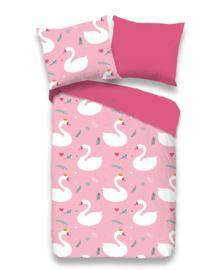 Good Morning Dekbedovertrek Whisper (pink) 100x135