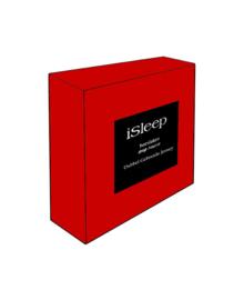 iSleep Hoeslaken Dubbel Jersey (rood)