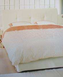 Libelle Dekbedovertrek Klint (oranje) 240x200/220