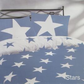 Day Dream Dekbedovertrek Stars (blauw) 240x200/220