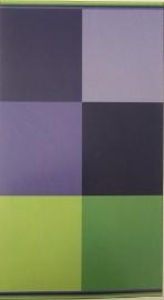 Strandlaken Blok (blauw/groen) 100x200