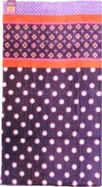 Damai Handdoek Bianca (purple) 70x130