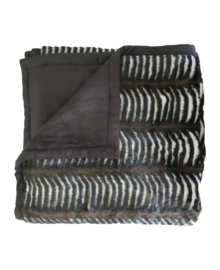 Essenza Plaid Zebra (black)