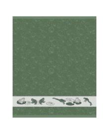 DDDDD Keukendoek Froggy (laurel)