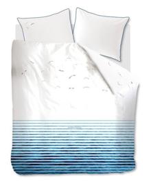 Riviera Maison Dekbedovertrek Seagull (blue) 240x200/220