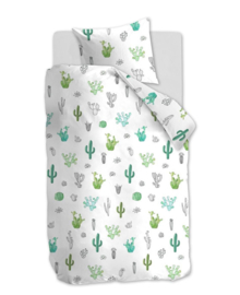 Beddinghouse Dekbedovertrek Cactus (green) 120x150
