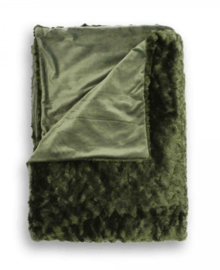 Heckett & Lane Plaid Sheba (dark green) 150x220