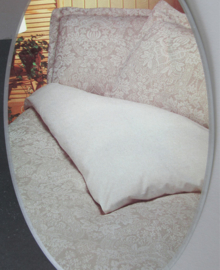 Acanthus Dekbedovertrek Evora (zand) 140x200/220