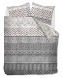 Riviera Maison Dekbedovertrek Winter Warm (grey) 140x200/220