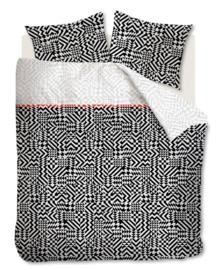 Beddinghouse Dekbedovertrek Kumiko (black) 260x200/220