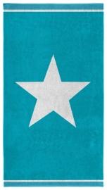 Seahorse Strandlaken Star  (aqua)