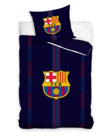 FC Barcelona Dekbedovertrek Barca Logo (dark blue) 140x200