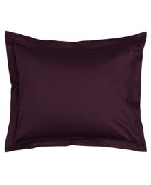 Essenza Kussensloop Satijn Katoen (burgundy) 60x70