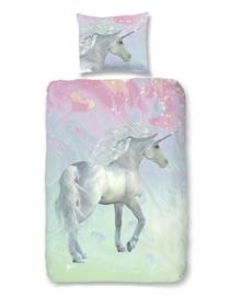 Good Morning Dekbedovertrek Unicorn (multi) 140x200/220