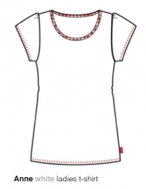 Marieke at Home  Dames Shirt Anne (white)