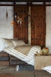 Stapelgoed Dekbedovertrek Post (brown) 120x150