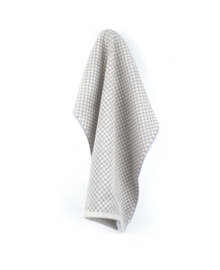 Bunzlau Castle Keukendoek Small Check (grey)