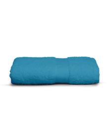 Twentse Damast Handdoek Uni (turquoise) 50x100