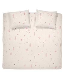 Cinderella Dekbedovertrek Jeanne (pink) 200x200/220