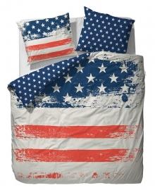 Covers & Co Dekbedovertrek USA (navy) 240x200/220