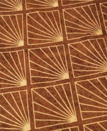 Kayori Dekbedovertrek Machii (brown) 200x200/220