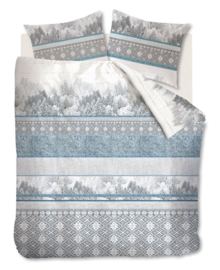 Beddinghouse Dekbedovertrek Winterland (blue grey) 200x200/220